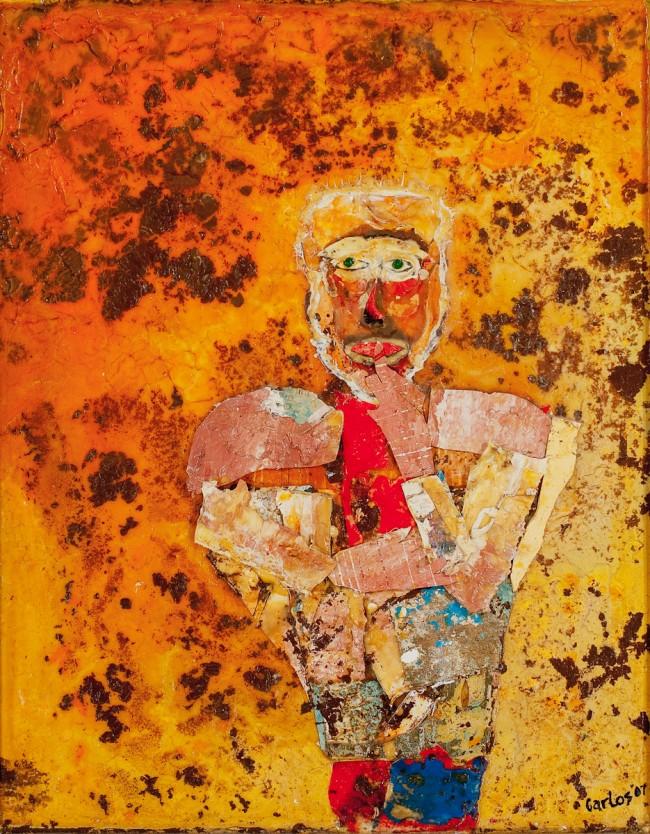 Acrylic, canvas on canvas. 24