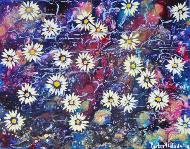 flores cesped carlos pillado